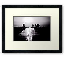 Enter the Light Framed Print