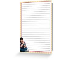 David Archuleta Notepad Greeting Card