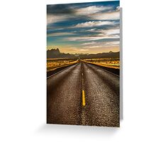 Road trip to Big Bend Greeting Card