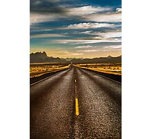 Road trip to Big Bend Photographic Print