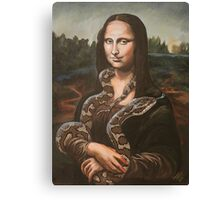 Mona, After Da Vinci Canvas Print