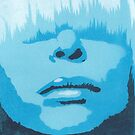 Face &amp; Fringe Blue by Nicole Tattersall