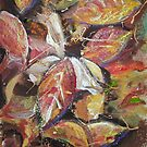 Autumn Abstract by Dianne  Ilka