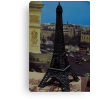 Soxy hired a helicopter in Paris, France Canvas Print