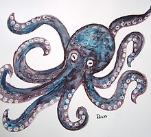 Mr Octopus by Dianne  Ilka