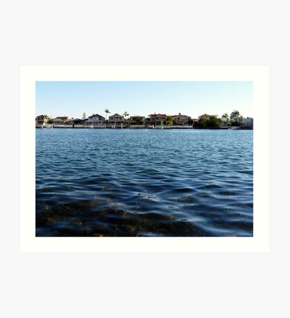 Waterfront Properties, GC Art Print
