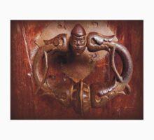 Medieval Door Knocker One Piece - Short Sleeve