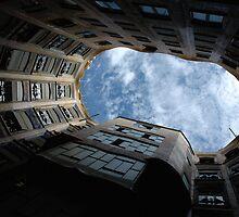 Gaudi's Sky by Denis Molodkin