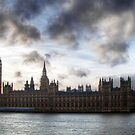 The Houses of Parliament by A90Six