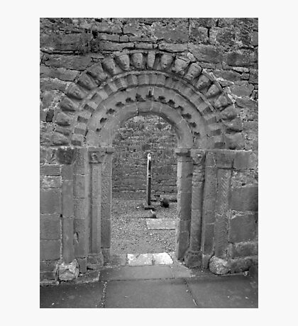 Dysart O Dea arch in black and white Photographic Print