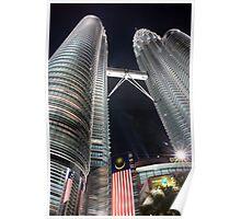 Malaysia Petronas Twin Towers Poster