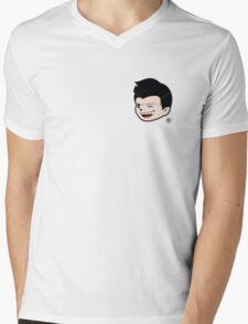 Wolfie un-fukwitable Mens V-Neck T-Shirt