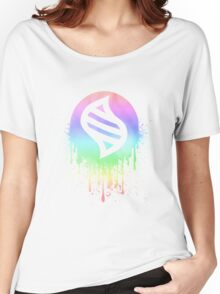 Keystone Splatter (Pastel) Women's Relaxed Fit T-Shirt