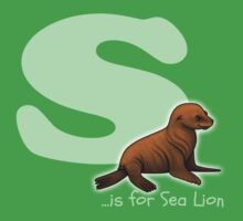 S is for Sea Lion Baby Tee
