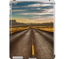 Road trip to Big Bend iPad Case/Skin