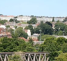Looking to Clifton Bristol by Iani