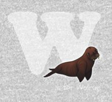 W is for Walrus One Piece - Long Sleeve