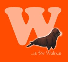 W is for Walrus Kids Clothes