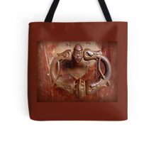 Medieval Door Knocker Tote Bag