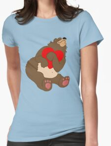 I Love You So Much...I Can Bearly Stand It! Womens Fitted T-Shirt