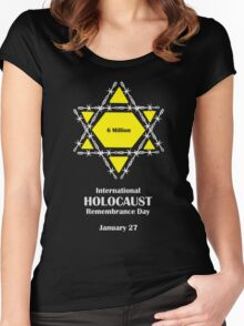 International Holocaust Remembrance Day Women's Fitted Scoop T-Shirt