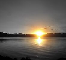 Sunset from Bruny Island by Marc Bester