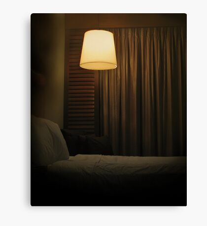 the bed's too big without you Canvas Print