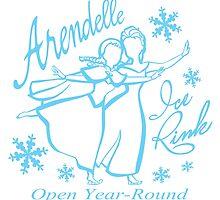 Arendelle Ice Rink by Ellador