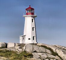Peggy's Cove Lighthouse by kenmo