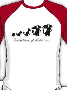 Evolution of Pokémon T-Shirt