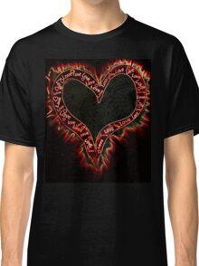 Burning heart Classic T-Shirt