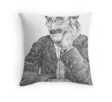 'Groucho' Throw Pillow