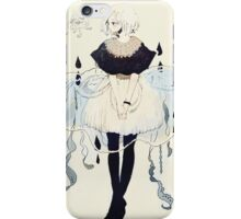 jellyfish dress iPhone Case/Skin