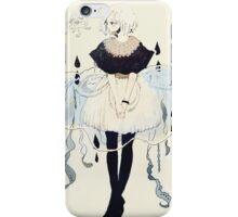 jellyfish dress iPhone Case/Skin