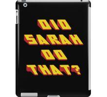 SARAH - Did it Design iPad Case/Skin