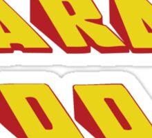 SARAH - Did it Design Sticker