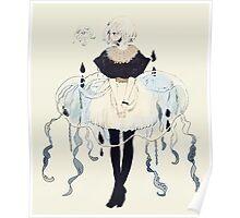 jellyfish dress Poster