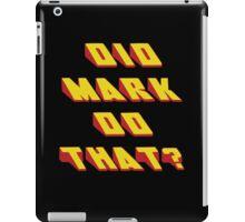 MARK - Did it Design iPad Case/Skin