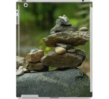 Stack of Rocks on the Trail iPad Case/Skin