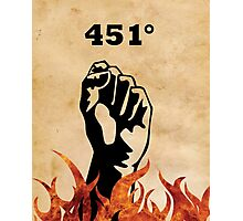 Fahrenheit 451 - Ray Bradbury Photographic Print