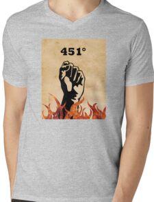 Fahrenheit 451 - Ray Bradbury Mens V-Neck T-Shirt