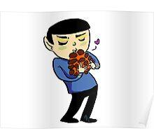 Spock <3 Horta Poster