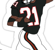 #ATLSHAWTY - Deion Sanders T-shirt Sticker