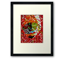 On Block l Framed Print