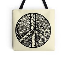 Circle of Peace Aussie Tangle - See Description Note for Colour Options Tote Bag