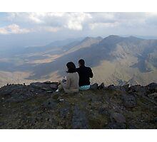 Carrauntoohil lunch Photographic Print