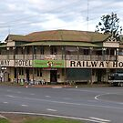 Historic 'Imbil' Hotel, circa 1920, country town Queensland. by Rita Blom