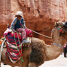 The camel driver from Petra by MichaelBr