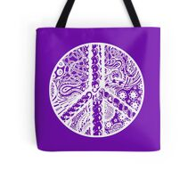 Circle of Peace Aussie Tangle White - See Description Note for Colour Options Tote Bag