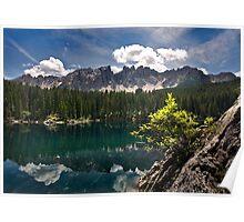 Lake Carezza Poster